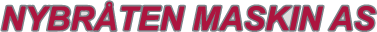 Nybråten Maskin logo